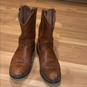 Ariat western boots brown leather size 8.5D